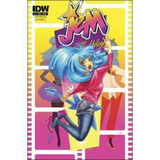 Jem and the Holograms #1 (2010) Variant cover