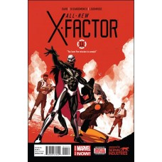 All new X-factor #11 (2014)