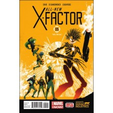 All new X-factor #5 (2014)